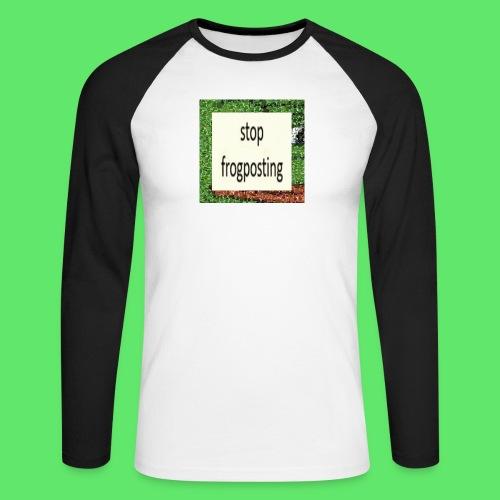 Frogposter - Men's Long Sleeve Baseball T-Shirt
