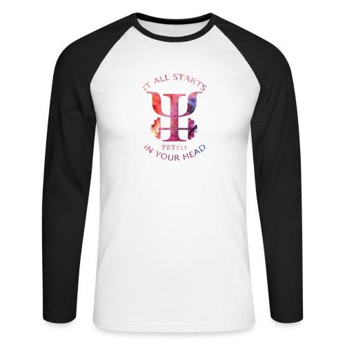 WATERCOLOUR 2.0 - Men's Long Sleeve Baseball T-Shirt