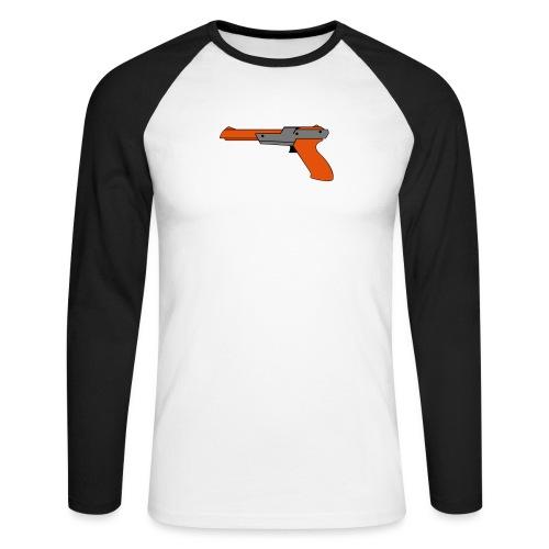 gun Zapper NES SUPER BROS HUNT DUCK - T-shirt baseball manches longues Homme