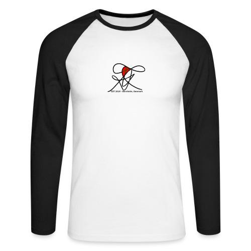 Bornholm Tee - Langærmet herre-baseballshirt
