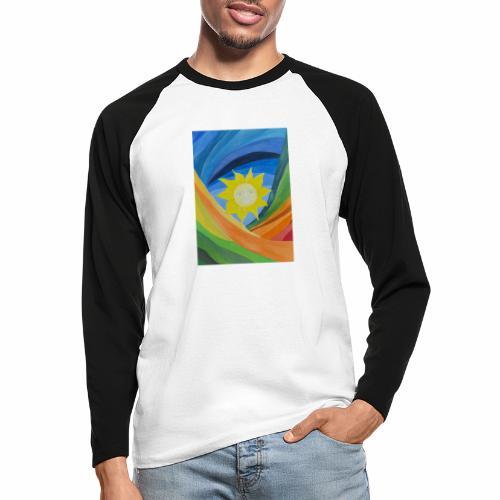 lachende-sonne - Männer Baseballshirt langarm