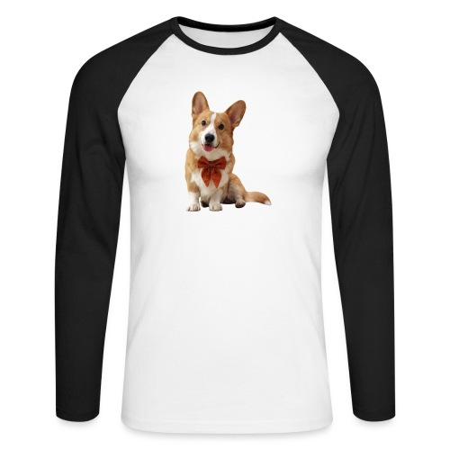 Bowtie Topi - Men's Long Sleeve Baseball T-Shirt