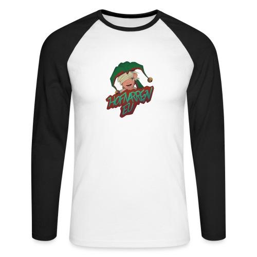 hofnarren_eu Twitch - Langærmet herre-baseballshirt
