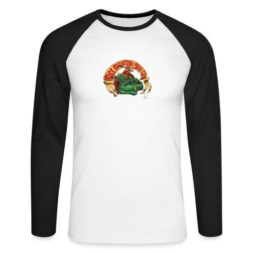 DiceMiniaturePaintGuy - Men's Long Sleeve Baseball T-Shirt