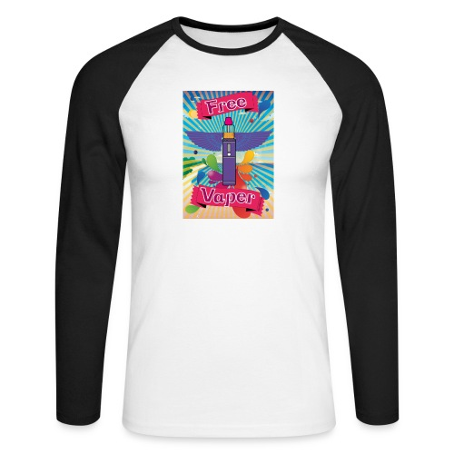 hawai png - T-shirt baseball manches longues Homme