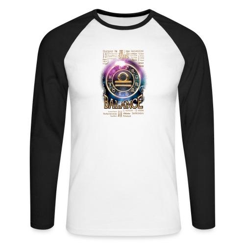 BALANCE - T-shirt baseball manches longues Homme