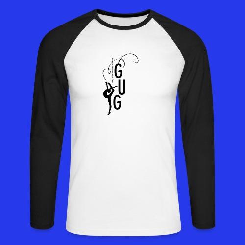 GUG logo - Männer Baseballshirt langarm