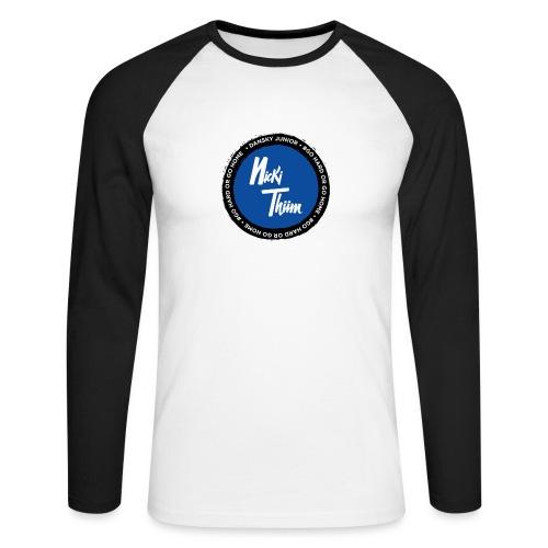Classic Logo - Männer Baseballshirt langarm