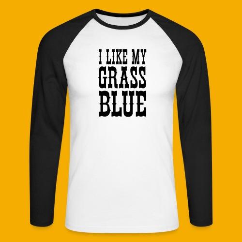 bluegrass - Mannen baseballshirt lange mouw