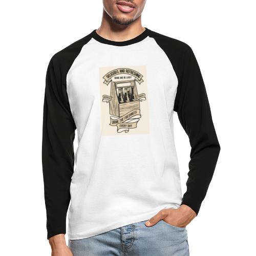 Drink The Freshness - T-shirt baseball manches longues Homme