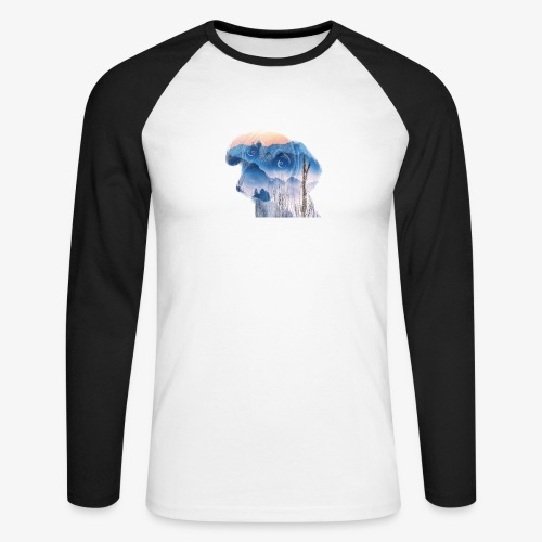 Süsser Hund - Männer Baseballshirt langarm