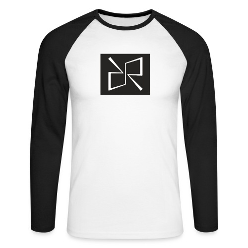 Rymdreglage logotype (RR) - Men's Long Sleeve Baseball T-Shirt