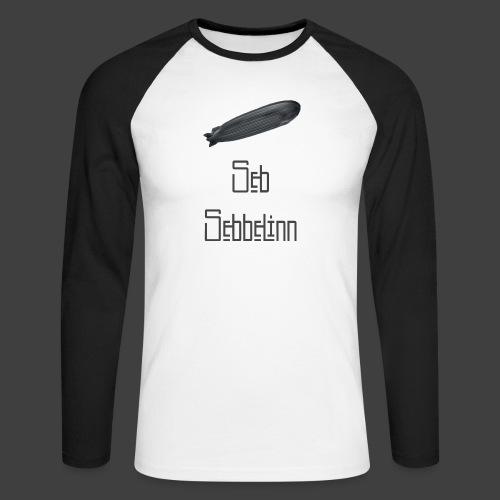 Seb Sebbelinn - Men's Long Sleeve Baseball T-Shirt