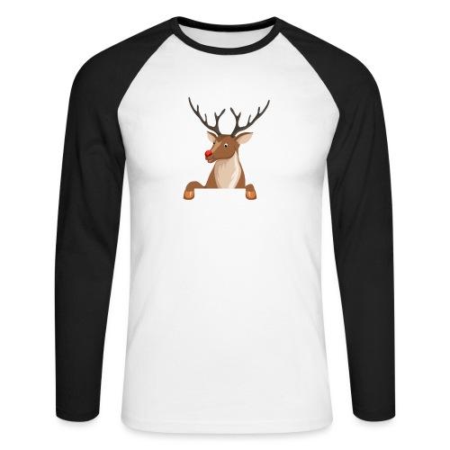 Caribou 6 - T-shirt baseball manches longues Homme