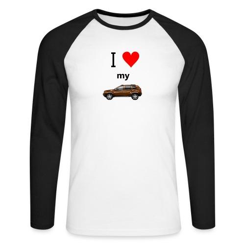 iloveduster2 - Männer Baseballshirt langarm