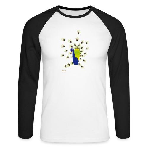 BEPROUD.png - Mannen baseballshirt lange mouw