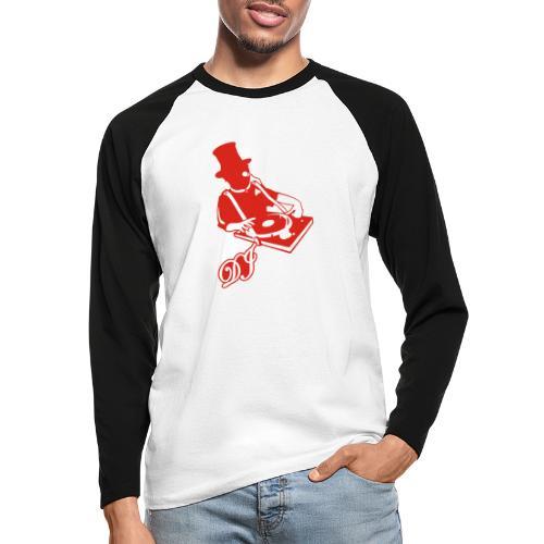 DJ Anno 1887 © forbiddenshirts.de - Männer Baseballshirt langarm