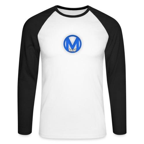 MWVIDEOS KLEDING - Mannen baseballshirt lange mouw