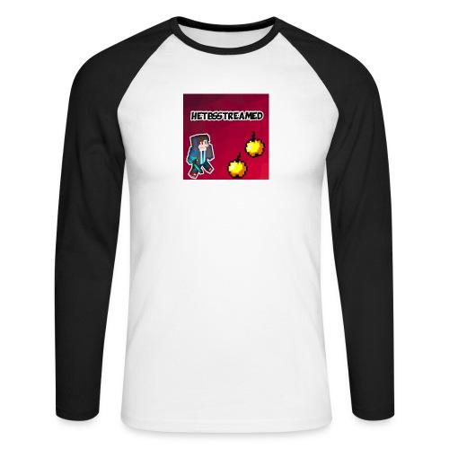 Logo kleding - Mannen baseballshirt lange mouw