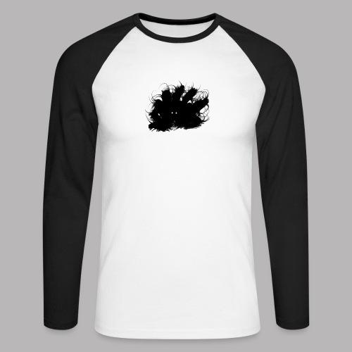 Crawley the Creeper - Men's Long Sleeve Baseball T-Shirt