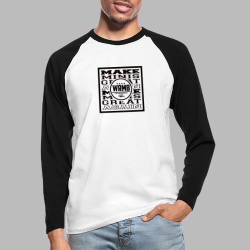Montée MMGA - T-shirt baseball manches longues Homme