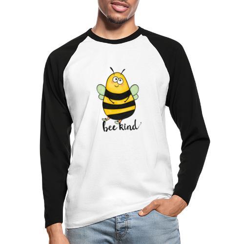 Bee kid - Men's Long Sleeve Baseball T-Shirt