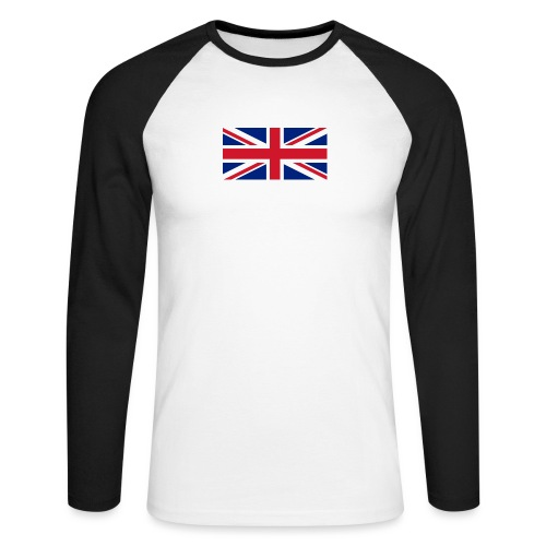 United Kingdom - Men's Long Sleeve Baseball T-Shirt