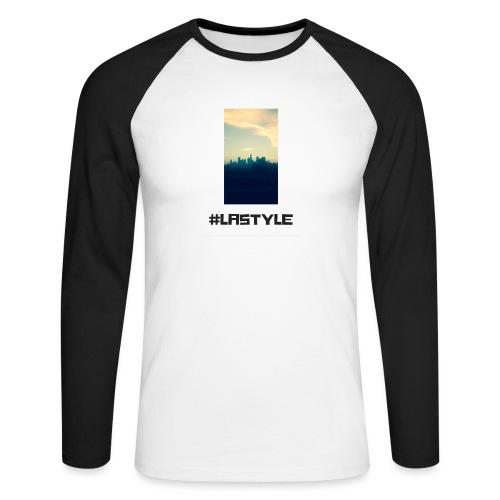 LA STYLE 3 - Men's Long Sleeve Baseball T-Shirt