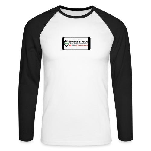 Galaxy S8 by Ronny's Vlog - Männer Baseballshirt langarm