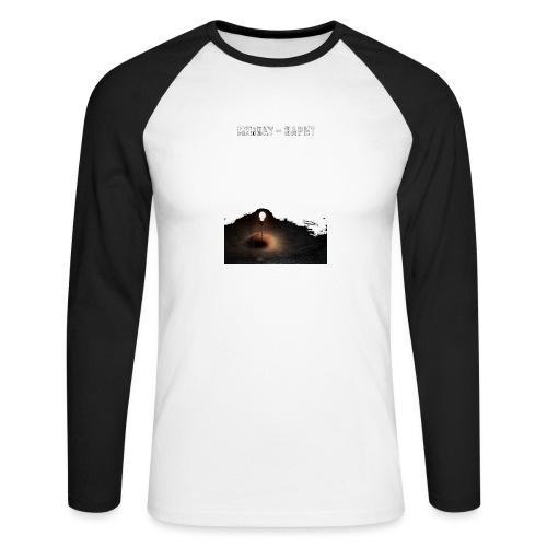 Mørket Håpet - Langermet baseball-skjorte for menn