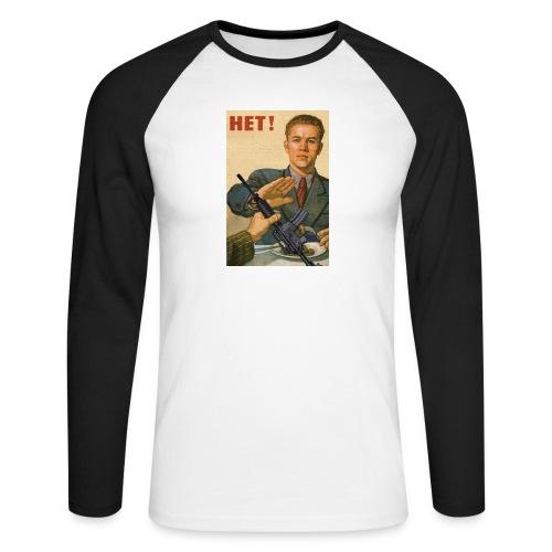 Njet M4 - Männer Baseballshirt langarm