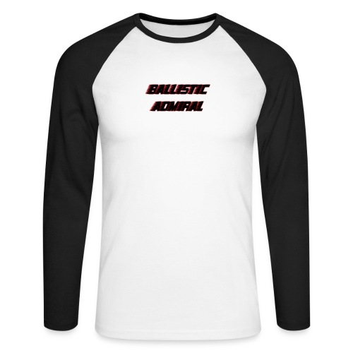 BallisticAdmiral - Mannen baseballshirt lange mouw