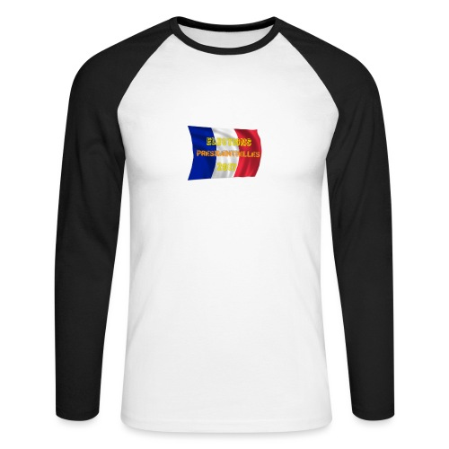 ELECTIONS 2017 - T-shirt baseball manches longues Homme