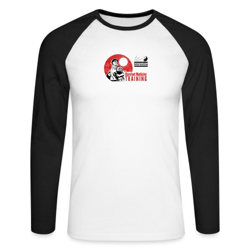 Barefoot Forward Group - Barefoot Medicine - Men's Long Sleeve Baseball T-Shirt