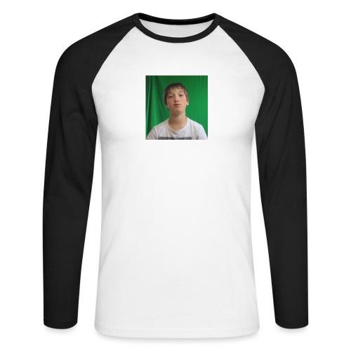 Game4you - Mannen baseballshirt lange mouw