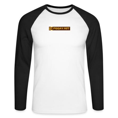 piggaynet1 - Männer Baseballshirt langarm