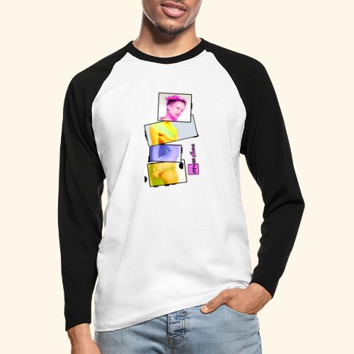Untitled 3 explose - T-shirt baseball manches longues Homme