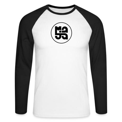 Logo mit Ring - Männer Baseballshirt langarm