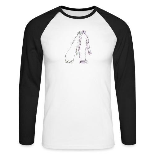 fatal charm - hi logo - Men's Long Sleeve Baseball T-Shirt