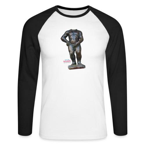 mannekenpis Real Big ♀♂ | 撒尿小童 - T-shirt baseball manches longues Homme