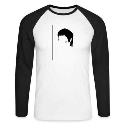 Bruce - T-shirt baseball manches longues Homme