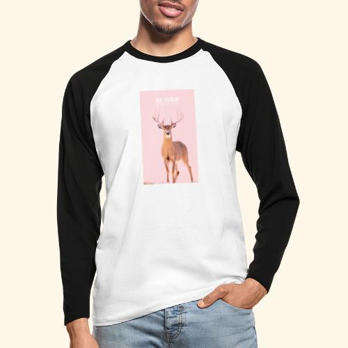 Be Wild - T-shirt baseball manches longues Homme