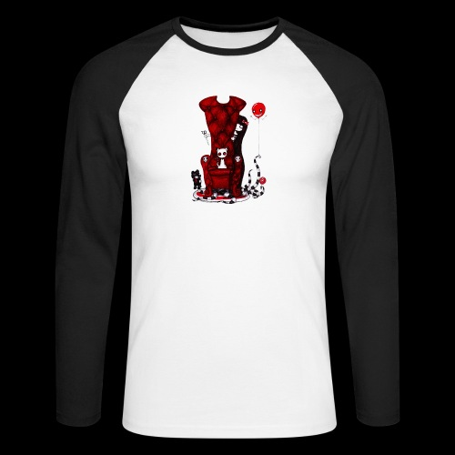 Cruelle petite fille - T-shirt baseball manches longues Homme