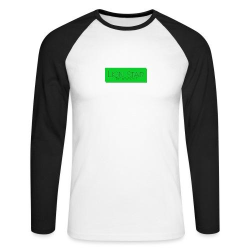 Untitled 3 png - Langærmet herre-baseballshirt