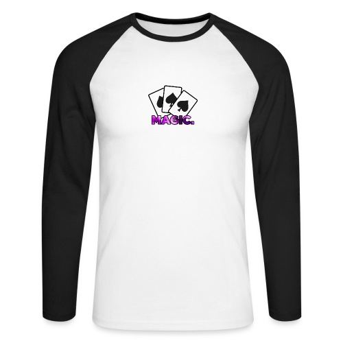 Magic! - Men's Long Sleeve Baseball T-Shirt
