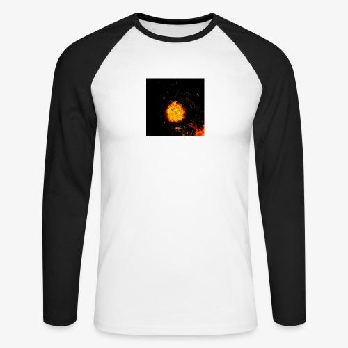 FIRE BEAST - Mannen baseballshirt lange mouw