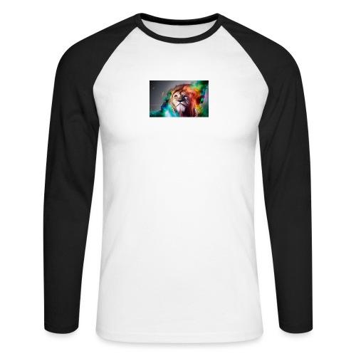 hero lion - T-shirt baseball manches longues Homme