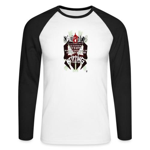 SITUATION - Men's Long Sleeve Baseball T-Shirt