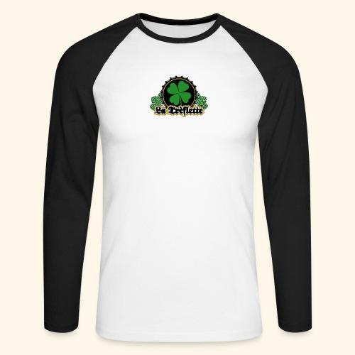 La Trèflette V.2 - T-shirt baseball manches longues Homme