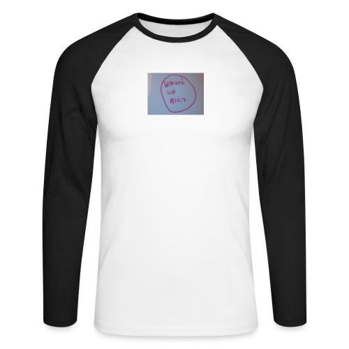 image - Men's Long Sleeve Baseball T-Shirt